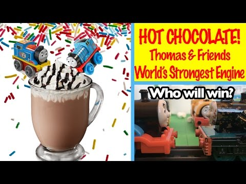 Thomas and Friends Hot Chocolate World