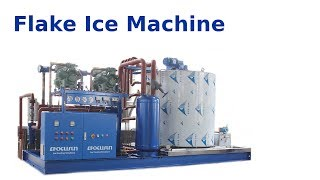 Flake Ice Machine: ice making process and machine parts - Focusun Ice Machines