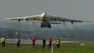 "Antonov-225 ""Mriya"" AMAZING take off runway 16 at ZRH"