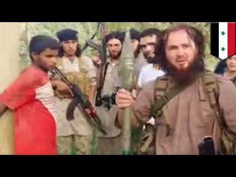 ISIS executes man using a BAZOOKA: Militants blast Syrian prisoner using a RPG  - TomoNews