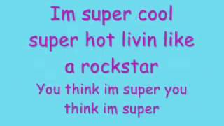 Hannah Montana - Supergirl (Lyrics)