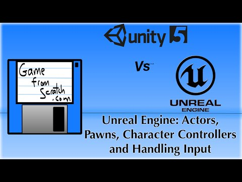 Unreal Engine Tutorial Part Five: Pawns, Character Controllers and