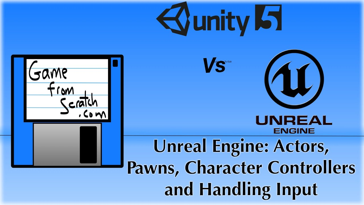 Unreal Engine Tutorial Part Five: Pawns, Character