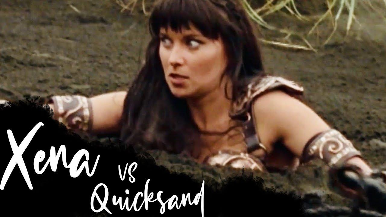 Download Xena vs Quicksand     Warrior Princess Playback
