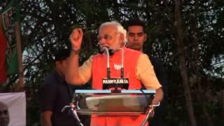 Shri Narendra Modi attends Bharath Vijay Rally Belgaum 30-03-2014