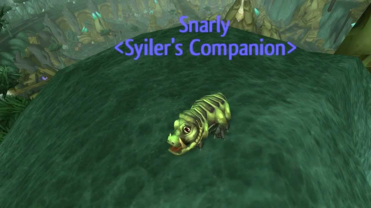 Disgusting oozeling wow companion pet guide youtube.