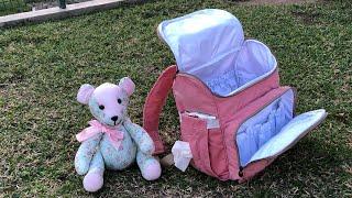 Bolsa Mochila Maternidade Versátil e Moderna