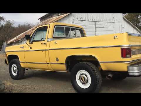 1978 Chevy Running After 10 Years