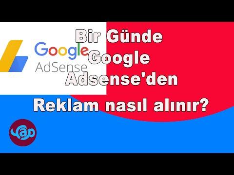 Bir Günde Google Adsense'den Reklam Nasıl Alınır? İzleizle Yap Paylaş EĞİTİM ADSENSE ONAY Watch