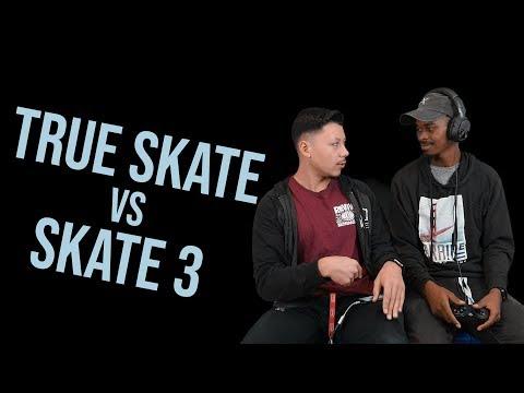 BATTLE OF THE CENTURY!!! True Skate vs Skate 3  Nigel vs Gabe