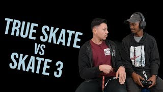 BATTLE OF THE CENTURY!!! True Skate vs Skate 3 - Nigel vs Gabe