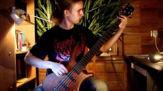 CRYPTOPSY - Crown Of Horns (Bass Cover)