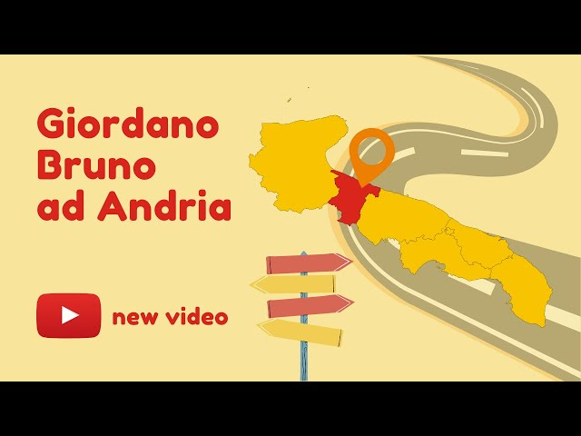Giordano Bruno ad Andria | a cura di Guido del Giudice