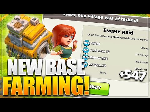 New *BEST* TH7 FARMING Base Design 2017 | Clash Of Clans Town Hall 7 Farming Base Layout -