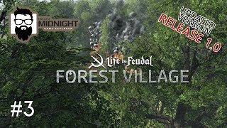 Forest Village Release 1.0 Gameplay - FIRE! FIRE!!! FIRE!!!!! - PART 3 - Lets Play Forest Village