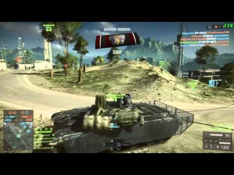 BF4 - Tank 49 Kill Streak - 50-1 - Unedited Gameplay 1080P Rogue Transmission