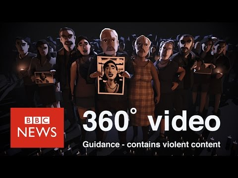 Inside the horrors of human trafficking in Mexico (360 VR) - BBC News