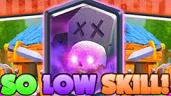 #1 GRAVEYARD DECK IN CLASH ROYALE IS SO LOW SKILL!!! EASY WINS!!!