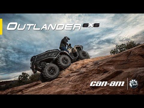 Can-Am Outlander 6x6 XT ATV Features