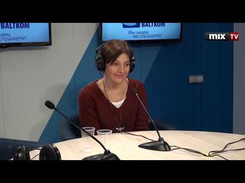 """Прямой эфир в Риге. Программа """"Прямая Речь""""  MIX TV, май 2015"""
