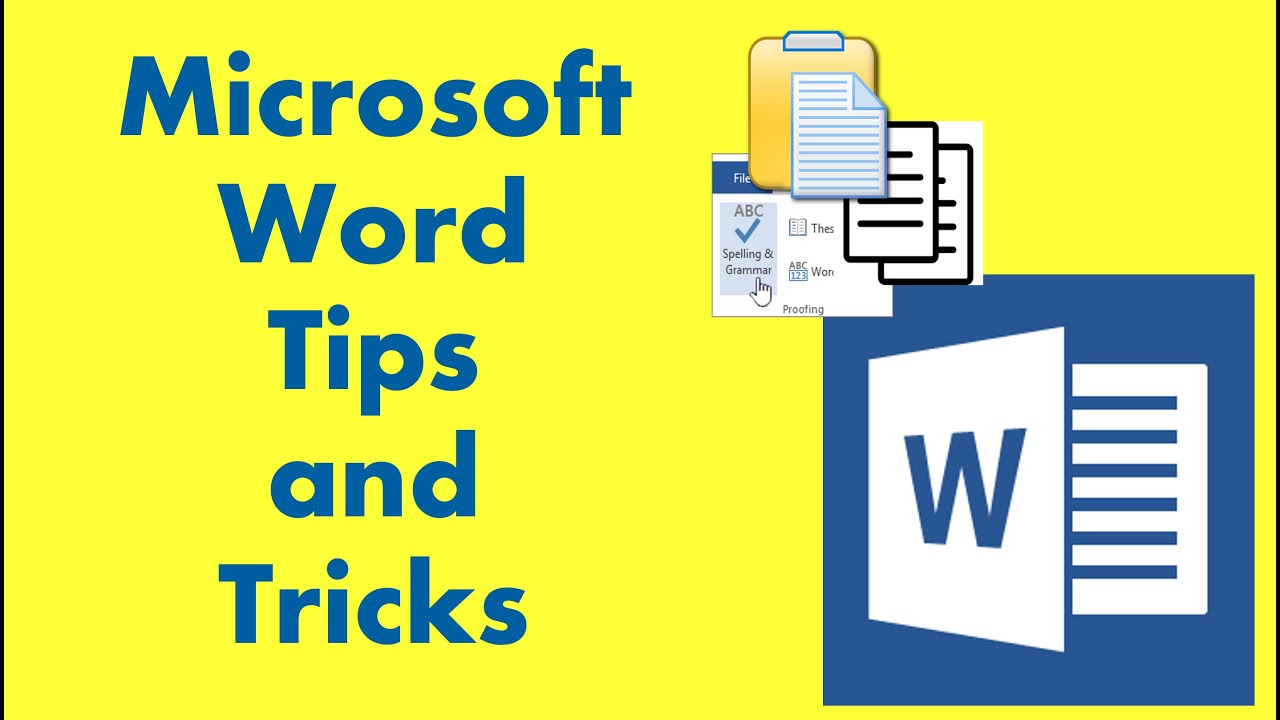 Microsoft Word Tips and Tricks 20   YouTube