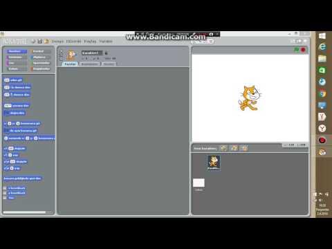 Scratch Çalışıyorum-Kedinin Duvara Çarptığında Başa Dönmesi Değişkeni 1 Arttırması