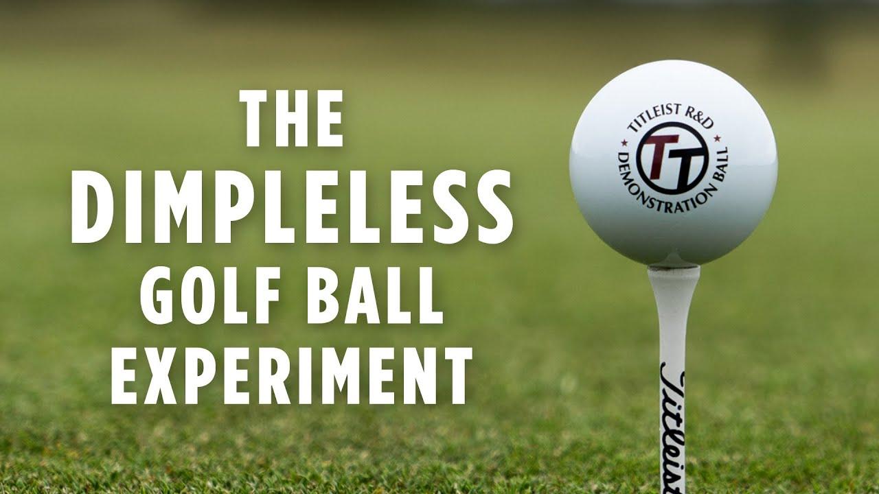 Dimpleless Golf Ball