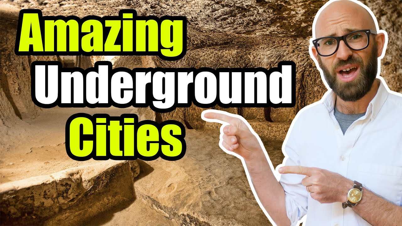 The Massive Ancient Underground City of Derinkuyu & The Amazing Scorpion Filled Tunnels of Cu Ch