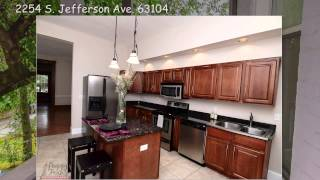 Beautiful House For Sale 2254 S. Jefferson Ave St Louis City 63104