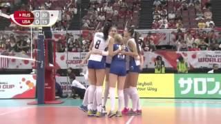 Goncharova and Kosheleva Volleyball Russia