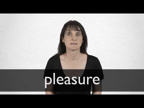 "Hindi Translation of ""pleasure"" | Collins English-Hindi Dictionary"