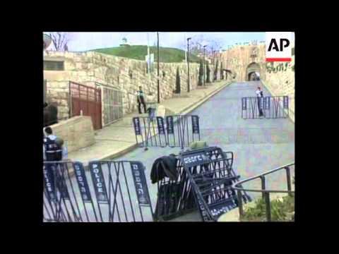 ISRAEL/JERUSALEM: POLITICS