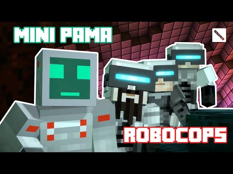 Mini PAMA with RoboCop Forces! Minecraft Story Mode Full Playthrough (Robot Theme)