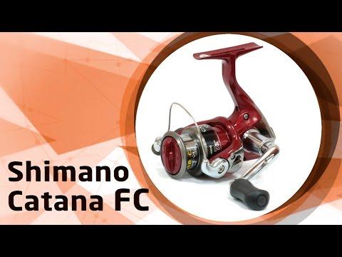 Безынерционные катушки Shimano Catana FC