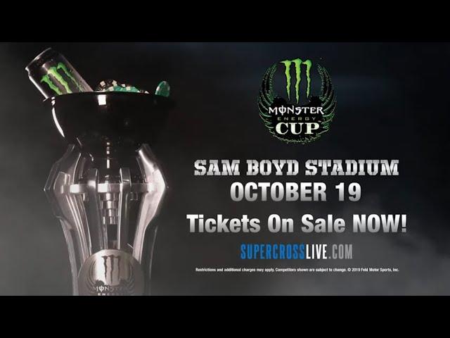 Monster Energy Cup - October 19 in Las Vegas!