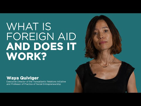 WHAT IS FOREIGN AID AND DOES IT WORK? | IE EXPLAINS