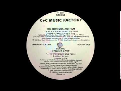 C+C Music Factory ft El General - Robi-Rob's Boriqua Anthem (Columbia Records 1994)