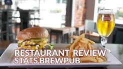 Restaurant Review - STATS Brewpub   Atlanta Eats