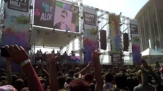 Happy Holi Brasília 2014- DJ ALOK