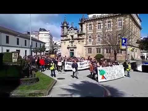 Los jubilados de Lugo salen a la calle por unas pensiones dignas