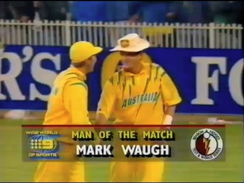 1992 Australia v West Indies (Game 7, Benson & Hedges World Series Cup ODI cricket)