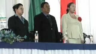 Punto huasteco, Francisco Flores Mezano, rinde protesta como presidente Mpal  de Tancoco Ver