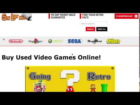 The Best Place to Buy Used Retro Video Games Online! - Still-Luv-Nes