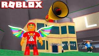 I USED MEGAPHONE in the ROBLOX SCREAM SIMULATOR → Shouting Simulator 🎮