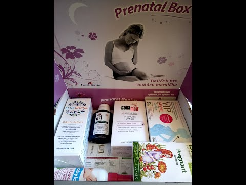 Speciál Happy Baby Prenatal box