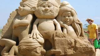 Bạn sẽ không tin vào mắt mình với những tác phẩm điêu khắc tuyệt đẹp làm từ cát