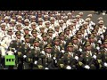 Russia: See foreign troopers march through Red Square during Victory Day parade