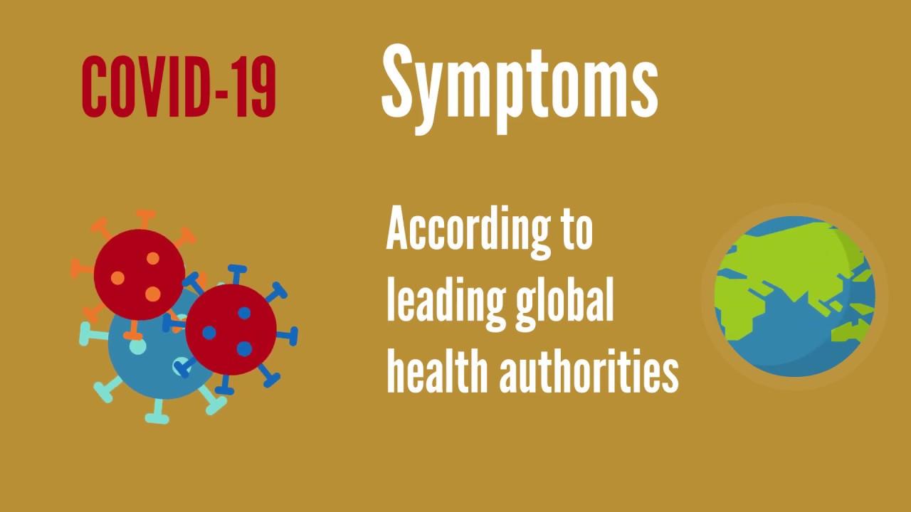 Coronavirus (COVID-19) Symptoms - USA, China, UK, Oz guidelines ...