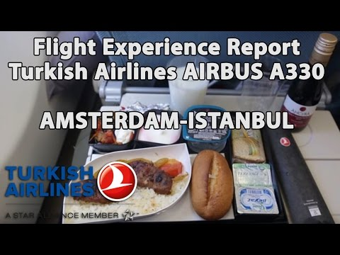 Trip Report : Turkish Airlines | Airbus 330 | Amsterdam to Istanbul | AMS-IST | TK1952
