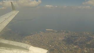 """Посадка самолёта в Городе Герой """"Одесса"""" landing at Odessa airport Ukraine HD"""